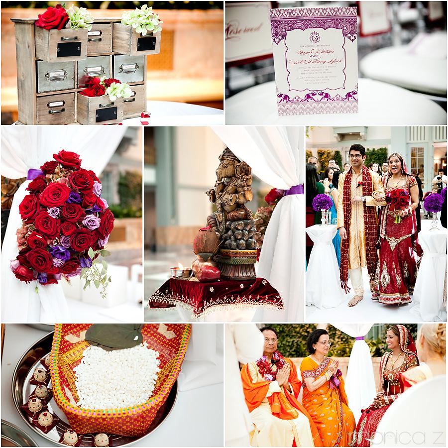 Harold Washington Library Wedding: Baraat And Wedding Ceremony